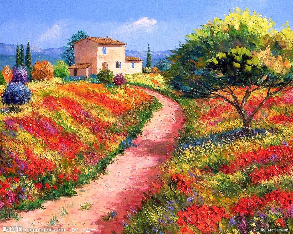 中文名称 风景油画  《世界最新油画专业目录》 外文名称 landscape