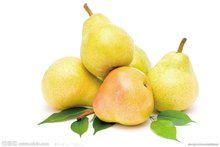 水果梨摄影图__水果_生物世