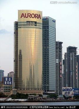 以金色为主色系,欧洲宫廷式穹顶设计,精美的吊顶灯饰,充分展现大楼