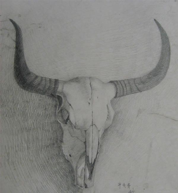 谁有羊头恶魔的简笔画照片,就像漫画天才j里面撒旦的那个标志.急求