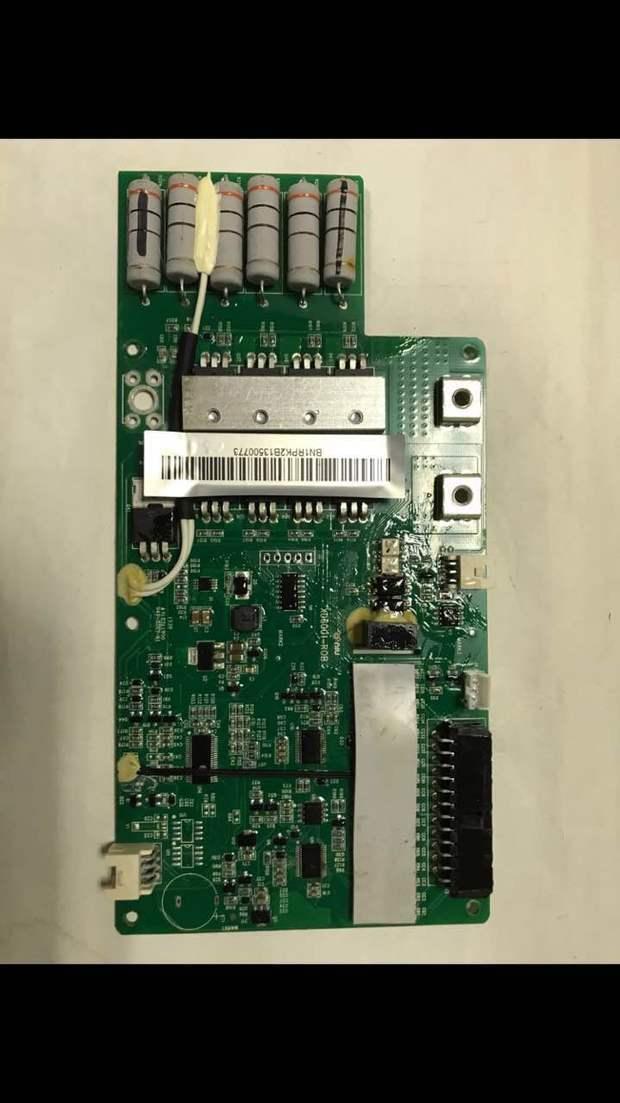 小牛电池内的保护板bms中有6个排列在一起的是什么?谢谢
