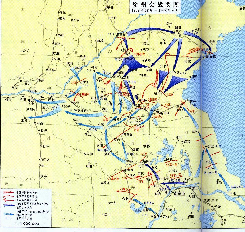 青岛到徐州地图