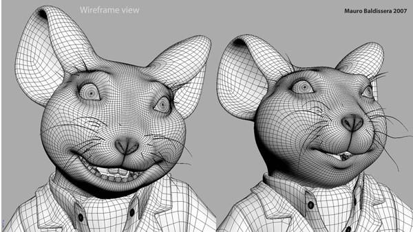三维动画模型设计与制作