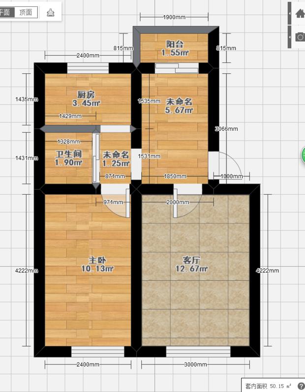 正方房子平面设计图图片