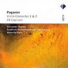 paganini  - violin concertos 1, 2 and  24 caprices