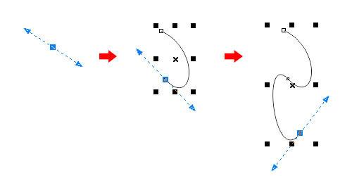 cdr里面的贝塞尔工具只画直线不画曲线怎cad显示外部开参照炸无法图片