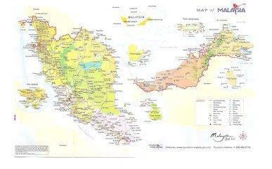 东马来西亚包括砂捞越地区和沙巴地区,位于加里曼丹岛(婆罗洲)北部