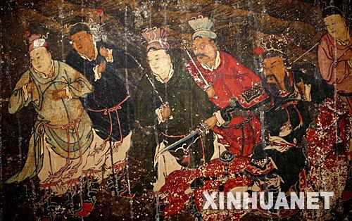 其分布較廣,河南,山西,遼寧,河北,山東,內蒙古等地的漢墓都有壁畫.