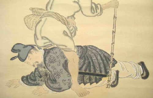 韩信铅笔全身手绘图片