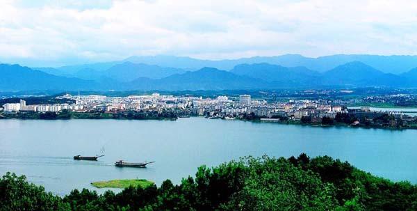 武宁景区开发的岛屿和景点有观音岛