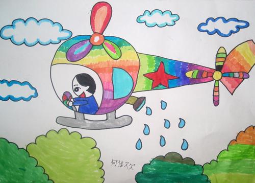 关于端午节包粽子的儿童画资料