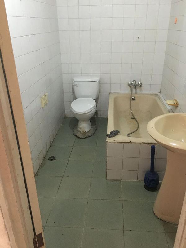 一樓老房子衛生間改造,馬桶移位