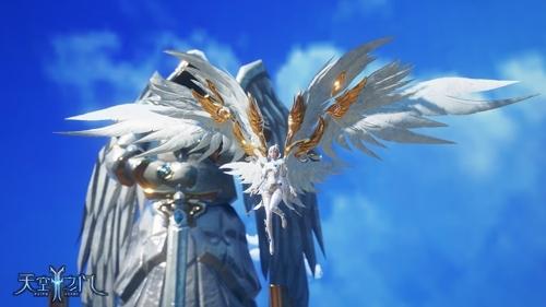 孩子羽翼丰满_发现神翎奥秘 《天空之门》乘着羽翼游世界