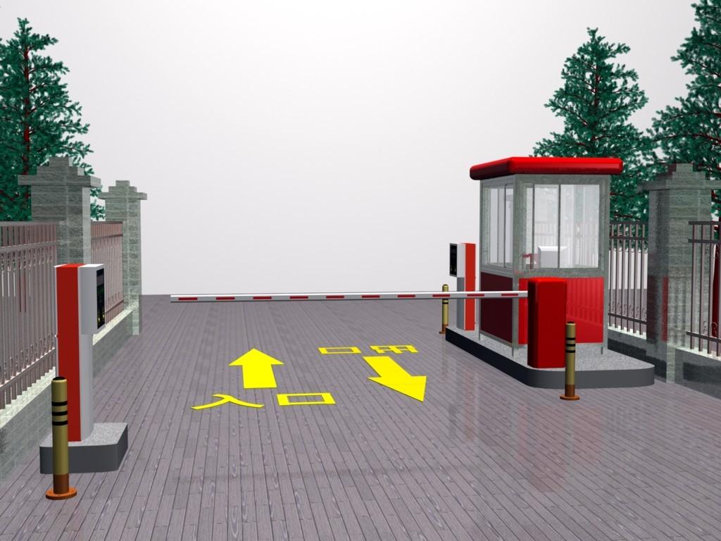 根据设计原理智能停车场管理系统可分为三大部分:信息的采集与传输